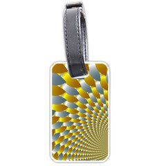 Fractal Spiral Luggage Tags (Two Sides)