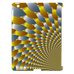 Fractal Spiral Apple iPad 3/4 Hardshell Case (Compatible with Smart Cover)