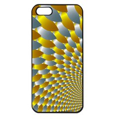 Fractal Spiral Apple Iphone 5 Seamless Case (black)