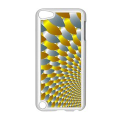 Fractal Spiral Apple iPod Touch 5 Case (White)