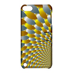Fractal Spiral Apple iPod Touch 5 Hardshell Case with Stand