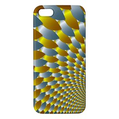 Fractal Spiral Apple iPhone 5 Premium Hardshell Case