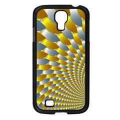 Fractal Spiral Samsung Galaxy S4 I9500/ I9505 Case (Black)