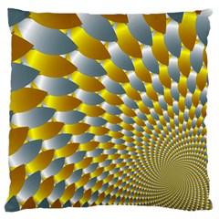 Fractal Spiral Standard Flano Cushion Case (One Side)