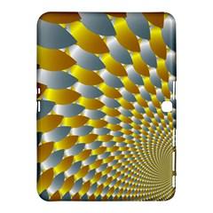 Fractal Spiral Samsung Galaxy Tab 4 (10.1 ) Hardshell Case