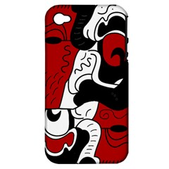Mexico Apple iPhone 4/4S Hardshell Case (PC+Silicone)