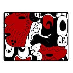 Mexico Double Sided Fleece Blanket (Small)