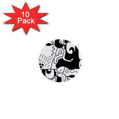 Mexico 1  Mini Buttons (10 pack)