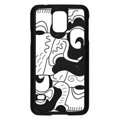 Mexico Samsung Galaxy S5 Case (Black)