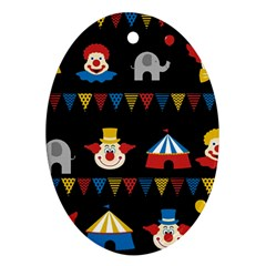 Circus  Ornament (Oval)