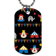 Circus  Dog Tag (One Side)