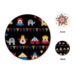 Circus  Playing Cards (Round)