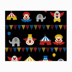Circus  Small Glasses Cloth (2-Side)