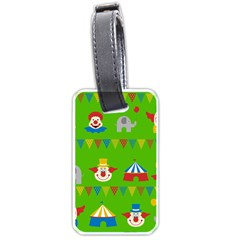 Circus Luggage Tags (One Side)