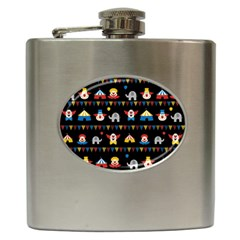 Circus Hip Flask (6 oz)