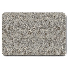Silver Tropical Print Large Doormat