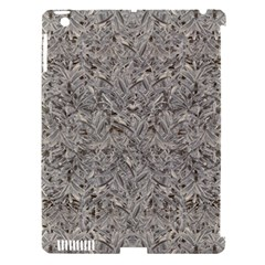 Silver Tropical Print Apple iPad 3/4 Hardshell Case (Compatible with Smart Cover)