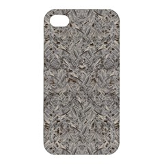 Silver Tropical Print Apple iPhone 4/4S Premium Hardshell Case