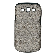 Silver Tropical Print Samsung Galaxy S III Classic Hardshell Case (PC+Silicone)