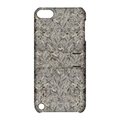 Silver Tropical Print Apple iPod Touch 5 Hardshell Case with Stand