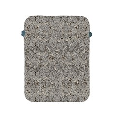 Silver Tropical Print Apple iPad 2/3/4 Protective Soft Cases