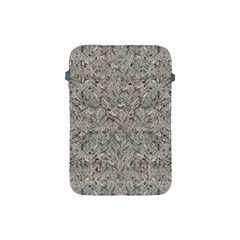 Silver Tropical Print Apple iPad Mini Protective Soft Cases