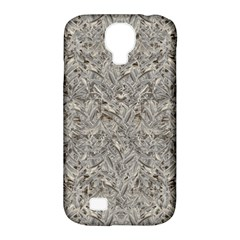 Silver Tropical Print Samsung Galaxy S4 Classic Hardshell Case (PC+Silicone)