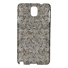 Silver Tropical Print Samsung Galaxy Note 3 N9005 Hardshell Case