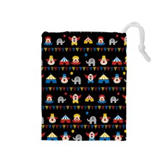 Circus Drawstring Pouches (Medium)