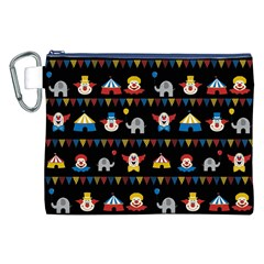 Circus Canvas Cosmetic Bag (XXL)