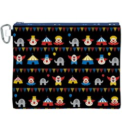 Circus Canvas Cosmetic Bag (XXXL)