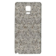 Silver Tropical Print Galaxy Note 4 Back Case