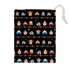 Circus Drawstring Pouches (Extra Large)