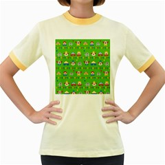 Circus Women s Fitted Ringer T-Shirts