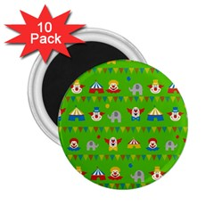 Circus 2.25  Magnets (10 pack)