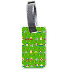 Circus Luggage Tags (Two Sides)