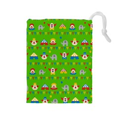 Circus Drawstring Pouches (Large)