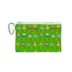 Circus Canvas Cosmetic Bag (S)
