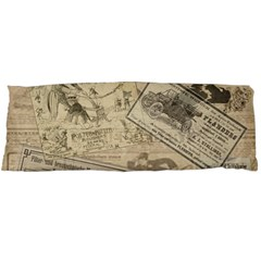 Vintage newspaper  Body Pillow Case Dakimakura (Two Sides)