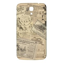 Vintage newspaper  Samsung Galaxy Mega I9200 Hardshell Back Case