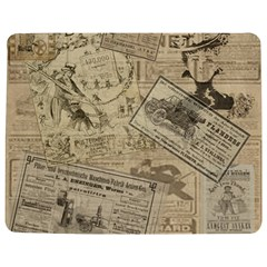 Vintage newspaper  Jigsaw Puzzle Photo Stand (Rectangular)