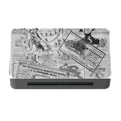 Vintage newspaper  Memory Card Reader with CF