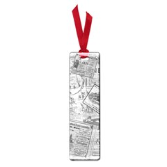 Vintage newspaper  Small Book Marks