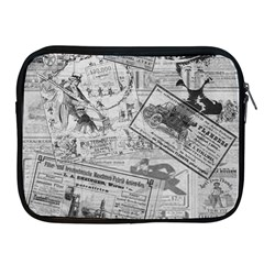 Vintage Newspaper  Apple Ipad 2/3/4 Zipper Cases