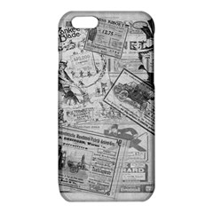 Vintage newspaper  iPhone 6/6S TPU Case