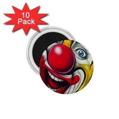 Clown 1.75  Magnets (10 pack)