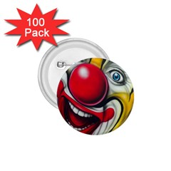 Clown 1.75  Buttons (100 pack)