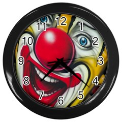 Clown Wall Clocks (Black)
