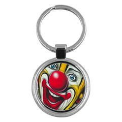 Clown Key Chains (Round)