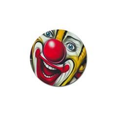 Clown Golf Ball Marker